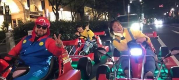 Portal 180 - Japón autoriza jugar al Mario Kart en la vida real pero con cinturón de seguridad