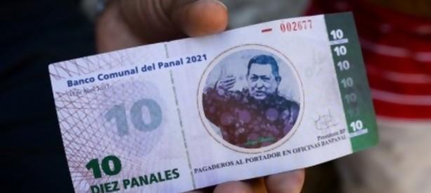 Portal 180 - En un barrio venezolano crean moneda con imagen de Chávez