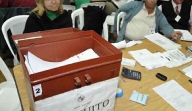 Montevideo: casi 14% de voto en blanco