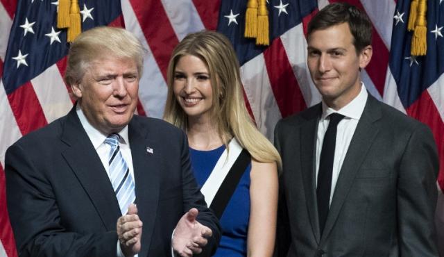 Trump designa a su yerno como asesor