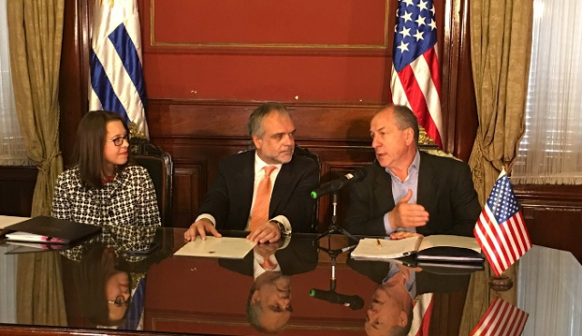 Uruguay firmó acuerdo de seguridad social con EE.UU