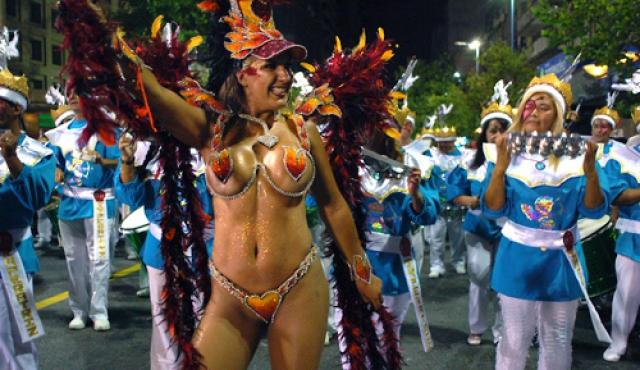 Desvíos en el Centro por Desfile de Escuelas de Samba