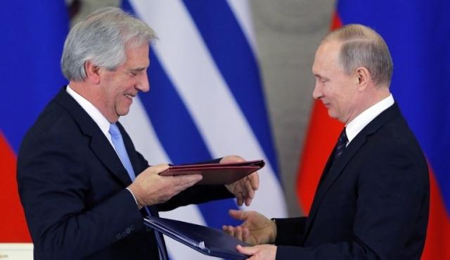 """Uruguay y Rusia comparten """"los mismos valores y principios"""""""