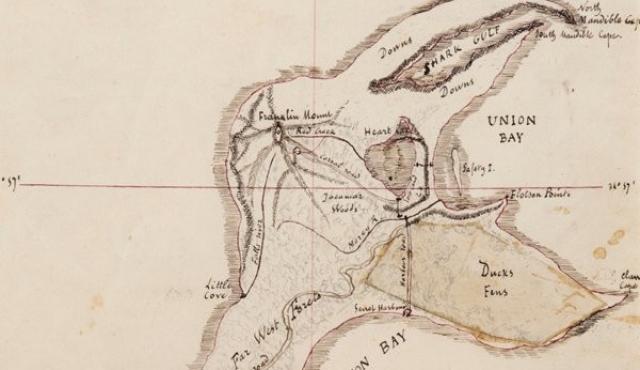 """El mapa de """"La isla misteriosa"""" de Julio Verne será subastado en París"""