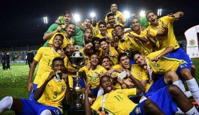 Brasil, rey absoluto de los Sudamericanos Sub17