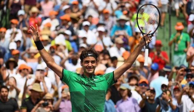Federer ganó el Master 1000 de Miami