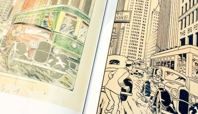 Ilustración original de Tintín vendida por 753.000 euros