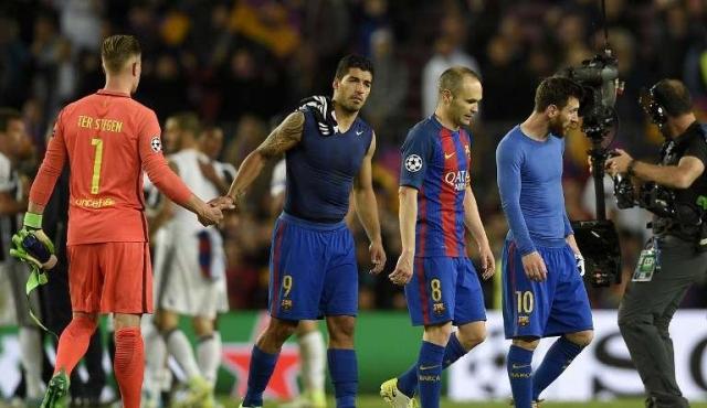 Juventus eliminó a Barcelona y es semifinalista
