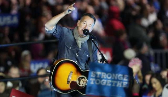 """Springsteen llama a Trump """"timador"""" en una nueva canción de protesta"""