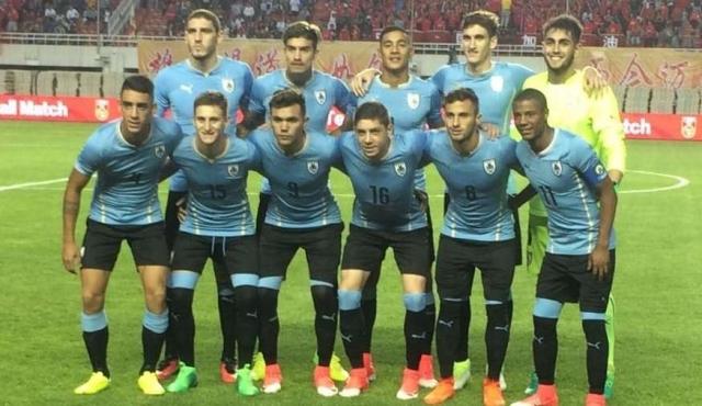 Sub20: Uruguay le ganó 3-1 a China