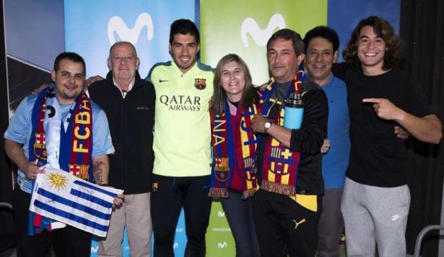 Movistar invitó a clientes a conocer a los ídolos del Barça en Barcelona