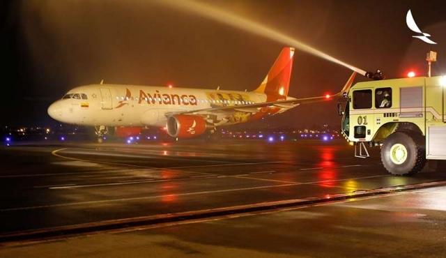 Avianca comenzó a operar vuelos diarios Bogotá-Montevideo