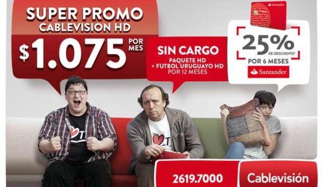 Cablevisión lanzó una nueva campaña