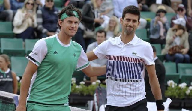 Thiem deja a Roland Garros sin su campeón Djokovic