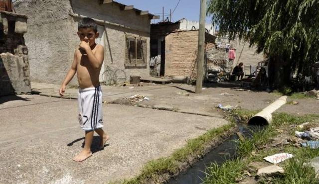 En Argentina hay 5,6 millones de niños en la pobreza