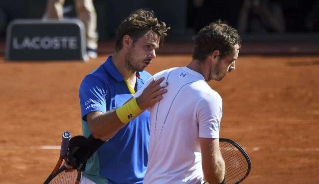Wawrinka venció a Murray y jugará la final de Roland Garros