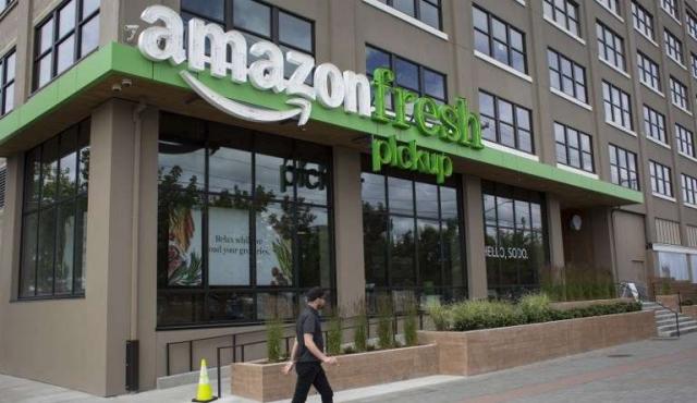 Amazon, de la venta de libros online a supermercado orgánico