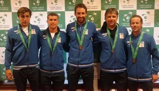 Copa Davis: Uruguay ascendió al Grupo II