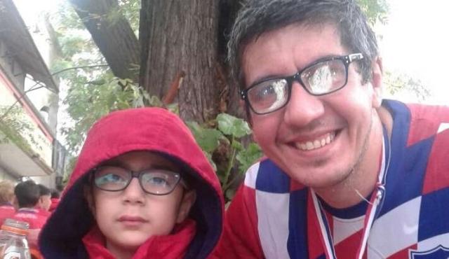 El hincha de Peñarol que en los 118 años de Nacional le dio un ejemplo a su hijo