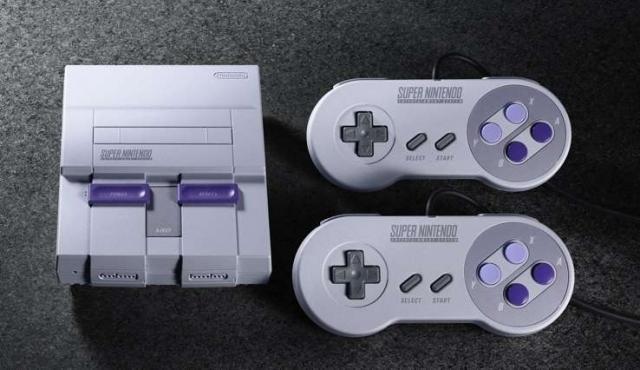 Relanzan el Super Nintendo en versión miniatura