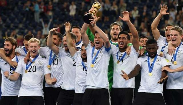Alemania subió al primer lugar del ránking FIFA; Uruguay está 17°