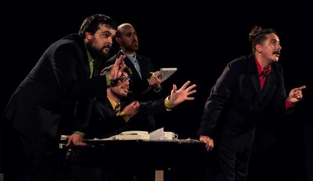 Pintos: la mente vista como una oficina pública en una obra de humor en La Gringa