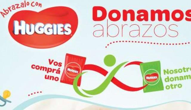 """""""Donamos Abrazos"""": Kimberly-Clark y Ta-Ta junto a los niños de la Fundación Álvarez-Caldeyro Barcia"""