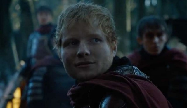 Ed Sheeran cantó en el regreso de Game of Thrones
