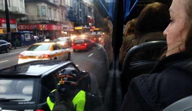 """Todas las empresas del transporte aplican reducción de servicios en """"horas valle"""""""