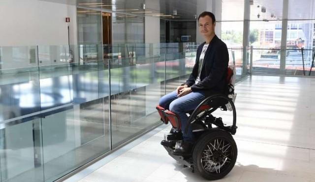 MarioWay, la silla de ruedas que podría cambiar la vida a los discapacitados
