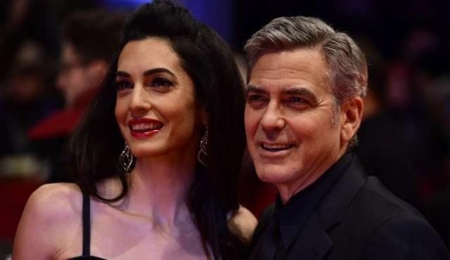George Clooney y su esposa ayudarán a 3.000 niños sirios en Líbano