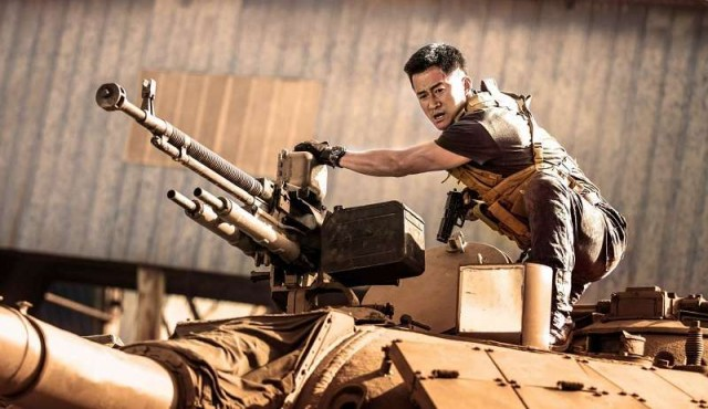 Una película patriótica bate récords en China