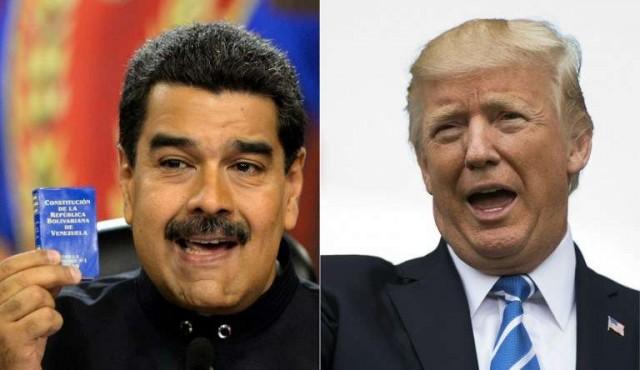Trump no descarta acción armada en Venezuela, que promete defenderse