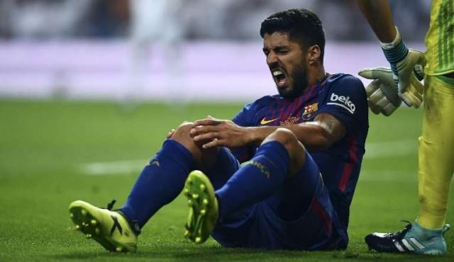 Uruguay descarta a Luis Suárez para juegos de Eliminatorias