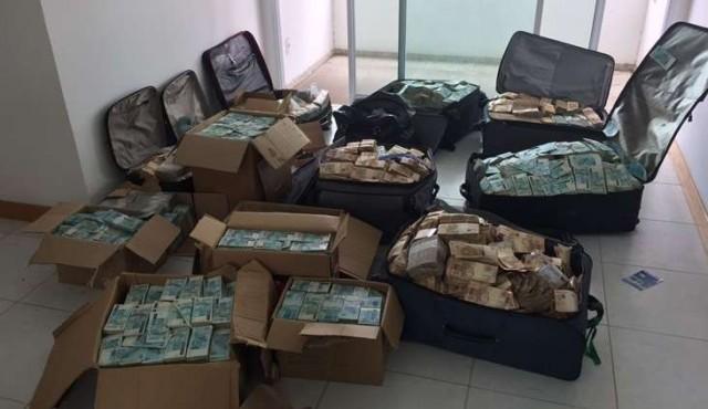 Exministro de Temer va a la cárcel tras hallazgo de valijas repletas de dinero