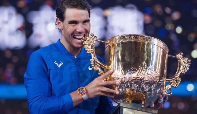 Nadal ganó en Pekín el 75° título de su carrera