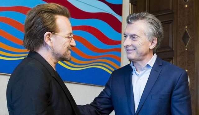 Bono le preguntó a Macri por Santiago Maldonado