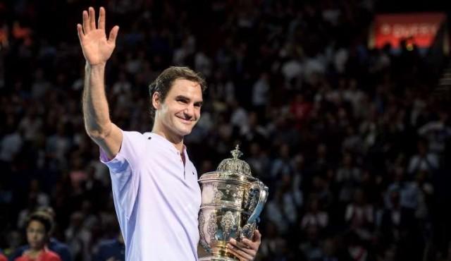 Federer ganó su octavo título en Basilea
