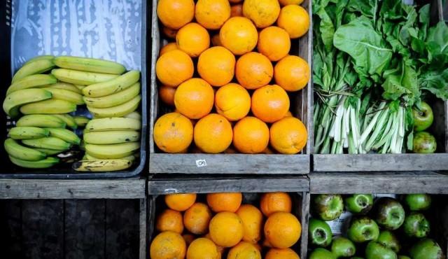 Precios de frutas y verduras en su valor más alto de 2017