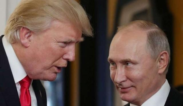 """Trump: Putin me dijo que """"no se había entrometido"""" en las elecciones de EE.UU"""
