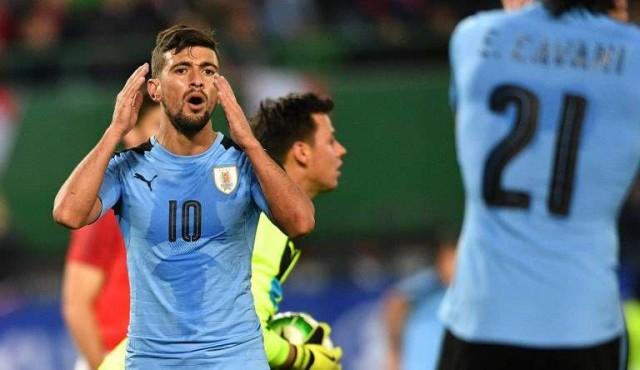 Uruguay perdió 2 a 1 con Austria