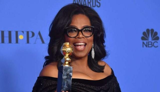 """Oprah declara """"nuevo día"""" para mujeres en potente discurso en los Globos de Oro"""