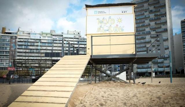 Playas sin guardavidas por paro del PIT-CNT