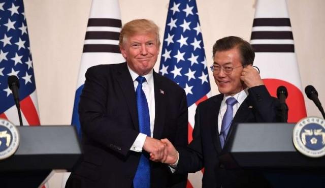 Trump y Moon dan señales de apertura para conversar con Corea del Norte