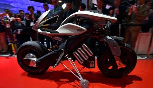 """Yamaha presenta en el CES de Las Vegas su """"moto del futuro"""""""