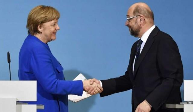 Merkel alcanza un acuerdo con los socialdemócratas para formar gobierno