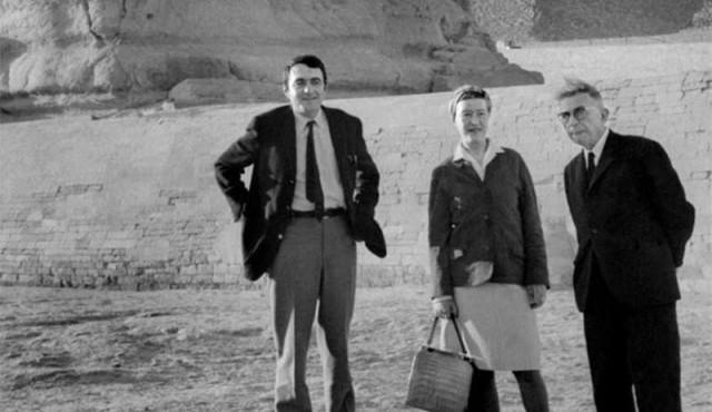 Universidad de Yale compró las cartas de amor de Simone de Beauvoir a Claude Lanzmann