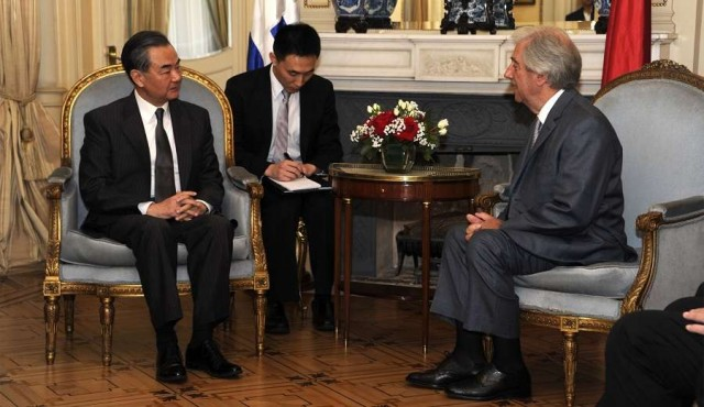 Presidente de Uruguay sostuvo reunión con delegación china