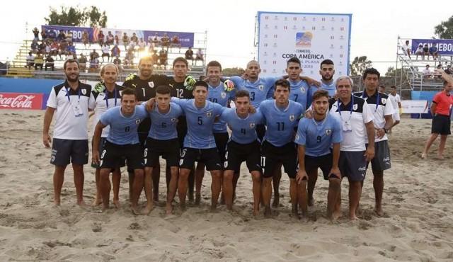 Fútbol playa: Brasil campeón de América; Uruguay tercero