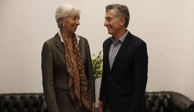 Coincidencias entre Mauricio Macri y la jefa del FMI